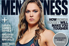 Ronda Rousey Is the First Woman on the Cover of 'Men's Fitness' in History