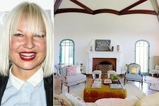 Sia's Mediterranean-Style Los Angeles Retreat