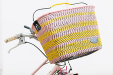 DIY To Try: Crazy-Cool Woven Bike Basket