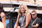 Country gal Miranda Lambert makes a live concert appearance at the Grove on TV programme