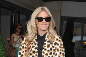 Mollie King Goes Bold In Leopard Print