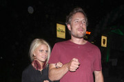 Lovebirds! Jessica Simpson and her fiance Eric Johnson enjoy a night out together to see Adele in concert at the Greek Theater in Hollywood.
