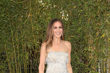 Sarah Jessica Parker Dazzled In An Art Deco-Style Beaded Dress