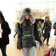 Olivia Palermo's Furry Hat