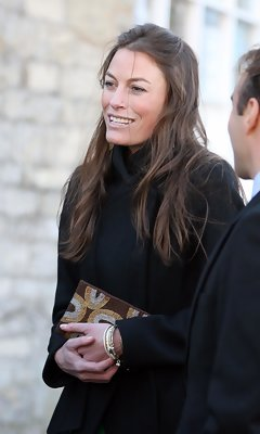 Jecca Craig Wearing Gucci to the Royal Wedding
