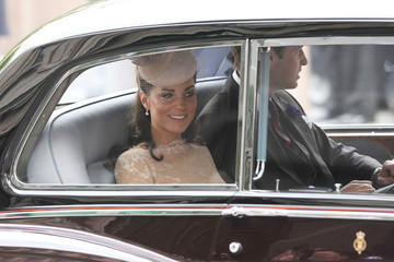 The Royals Arrive at Buckingham Palace