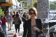 Yummy Mummy: Jessica Alba takes her daughter Honor shopping in Beverly Hills.