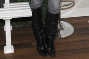 Diane Kruger Knee High Boots