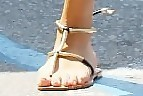 Rosie Huntington-Whiteley Gladiator Sandals