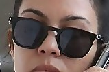 Kourtney Kardashian Square Sunglasses