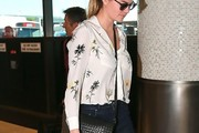 Kate Upton Print Blouse
