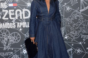Garcelle Beauvais Denim Dress