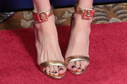 Zoe Kazan Evening Sandals