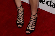 Whitney Port Lace-Up Heels
