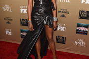 Naomi Campbell Wrap Dress