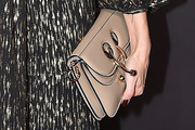 Olivia Palermo Leather Clutch