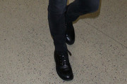 Courteney Cox Combat Boots