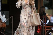Sofia Vergara Print Dress