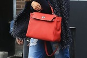 Sofia Vergara Leather Tote