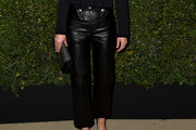 Amber Valletta Leather Pants
