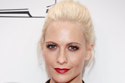 Poppy Delevingne Loose Ponytail