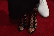 Nicki Minaj Lace-Up Heels