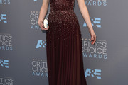Krysten Ritter Beaded Dress