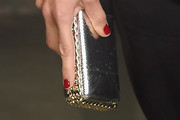 Penelope Cruz Metallic Clutch