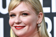 Kirsten Dunst Long Straight Cut with Bangs