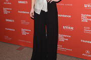 Kate Beckinsale Wide Leg Pants