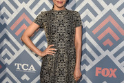 Aimee Garcia Embroidered Dress