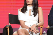 Freida Pinto Cutout Dress