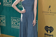 Perrey Reeves Denim Dress