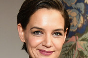 Katie Holmes Short Side Part