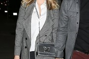 Kate Upton Metallic Shoulder Bag