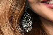 Jessica Alba Dangling Diamond Earrings