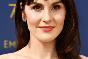 Michelle Dockery Long Straight Cut with Bangs