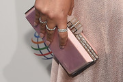 Chrissy Teigen Satin Clutch