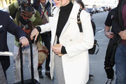 Margot Robbie Wool Coat