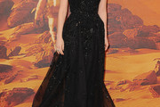 Jessica Chastain Beaded Dress