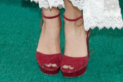 Vanessa Hudgens Peep Toe Pumps