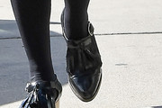 Busy Philipps Tassel Loafers