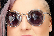 Kelly Osbourne Round Sunglasses