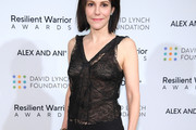 Mary-Louise Parker Sheer Top