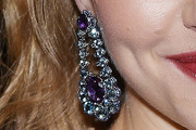 Amanda Seyfried Gemstone Chandelier Earrings