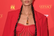 Joan Smalls Long Braided Hairstyle
