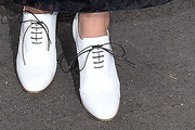 Rita Ora High Heel Oxfords