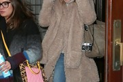 Kate Hudson Faux Fur Coat
