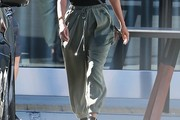Kourtney Kardashian Harem Pants