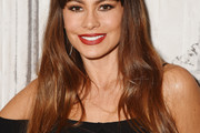 Sofia Vergara Long Straight Cut with Bangs